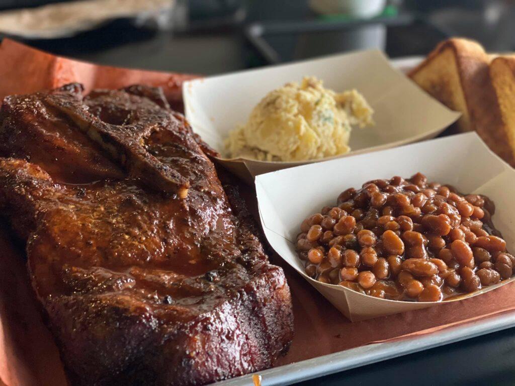 pork steak plate 2